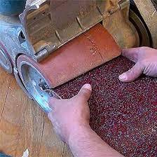 hardwood floor drum sander vs belt sander differences