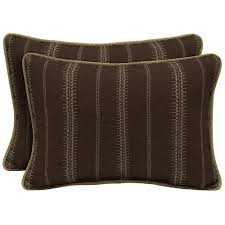 Oversized Throw Pillows Canada by Lumbar Hampton Bay Outdoor Pillows Outdoor Cushions The