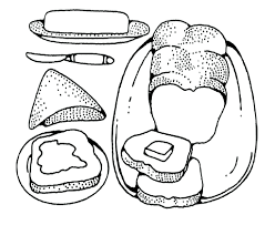 Food Pyramid Coloring Pages For Preschool Pictures Page Preschoolers Toddlers Full Size