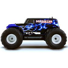 HSP TOP Monster Truck Special Edition Blue 2.4GHz 1/10 Brushless 4WD ...
