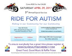 SUHSD Ride for Autism Home
