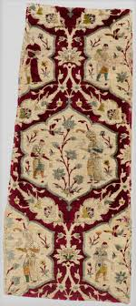 Carpet Velvet With Figural Imagery