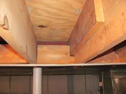 Sistering Floor Joists With Plywood notched floor joists internachi inspection forum