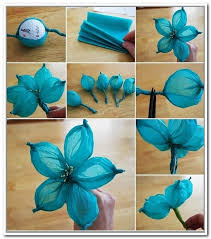Paper Flower Making Videos Dailymotion Handmade Flowers Step