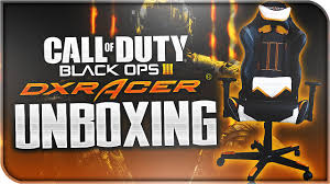 Dxracer Gaming Chair Cheap by Black Ops 3 Dxracer Unboxing Best Gaming Chair Ever Youtube