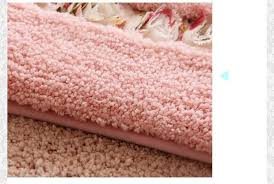 großhandel verdicken sie atmungsaktive wildleder material bad matten set rutschfeste badematten bodenmatte badteppich fußmatte küche teppich badematte