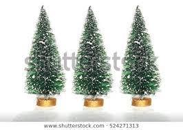 Three Tiny Christmas Trees