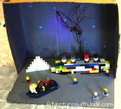 Lego Ship Sinking 2 by Adventures With Jude The Sinking Of The Titanic In Legos