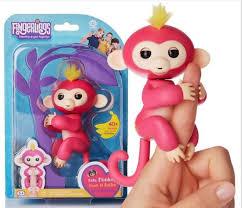 Fingerlings Finger Spinner Monkey Electronic Intelligent Tactile Color Children Toy