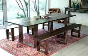 Dining Table Bench Set Upholstered With Back Room Dimensions Magnificent Seat