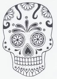 Skeleton Pumpkin Carving Patterns Free by Best 25 Sugar Skull Pumpkin Ideas On Pinterest Skull Pumpkin