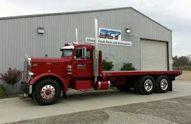 100 Peterbilt Trucks For Sale On Ebay 1965 351A NH 250 Cummins 4x4 Trans SQHD 20 Ft Reliance