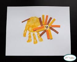 A Few Of My Favorite Things Fun Hand Print Art Work For Preschool