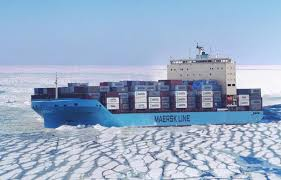 100 Shipping Container Shipping Maersk Ship Embarks On Historic Arctic Transit
