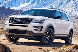 Ford Explorer Captains Chairs Second Row by 2017 Ford Explorer Review U0026 Ratings Edmunds