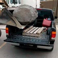What Happens When You Put A Massive Boulder In A Small Truck? [VIDEO ...