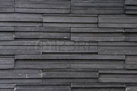 Modern Concept Brick Tile And Dark Grey Texture Stone Wall Surfaced