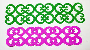 Paper Cutting DesignHow To Make Border Designpapercraft
