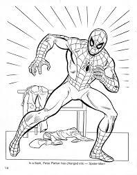 Christmas With Spider Man Coloring Book