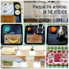 Practical Life Activities In The Kitchen Themontessorinotebook
