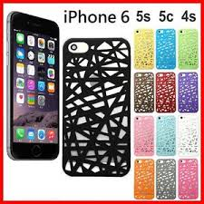 Apple iPhone 6 Hollow Bird Nest Snap Phone Case Cover For