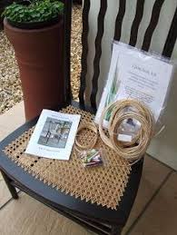 Chair Caning And Seat Weaving Kit by Canoe Cane A Canoe Seat Canoeing