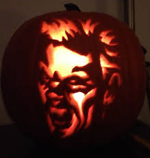 Michael Myers Pumpkin Template by My Healthy Journey Mixing Procrastination And Halloween Health