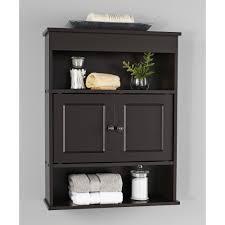 Plastic Storage Cabinets At Walmart by Chapter Bathroom Wall Cabinet Espresso Walmart Com