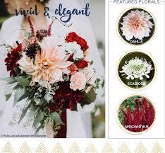 Vivid And Elegant Wedding Bouquet