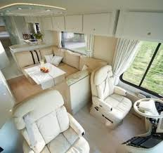 Luxury Motorhome Interior Of The Volkner Mobil Performance Bus