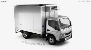 Mitsubishi Fuso Canter City Cab Refrigerator Truck 2016 3D Model By ...
