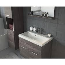 unterschrank waschtisch spiegel möbel badezimmer badmöbel