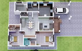 Stunning Ideas 2 Kerala House Plans 3d Photos 3D Plan Smart Design