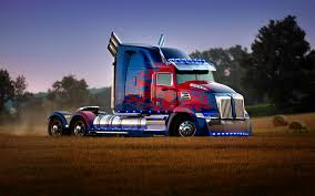 Wallpapers Transformers: The Last Knight Lorry Optimus 3840x2400
