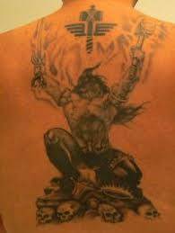 Germanic Warrior Tattoos Pin Tattoo Ideas