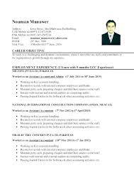 Junior Tax Accountant Resume Sample Staff Samples Acco