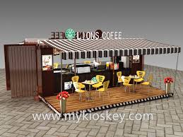 100 Converted Containers Fashional Converted Container Kiosk For Sale
