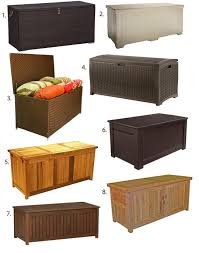 Rubbermaid Patio Storage Bench by Small Outdoor Storage Outdoor Storage Outdoor And Storage