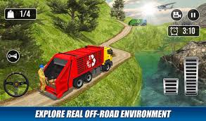 100 Off Road Truck Games Road Garbage Dump Driving For Android APK