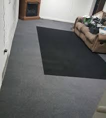 carpet tiles glue or carpet