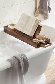 diy bathtub caddy with reading rack bathroom compact wood bathtub caddy design wooden bathtub caddy