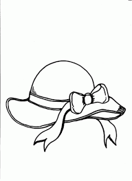 Hat Coloring Pages 9
