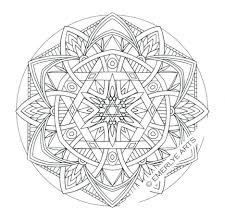 Easy Mandala Coloring Pages Printable Free Colouring Kids Simple