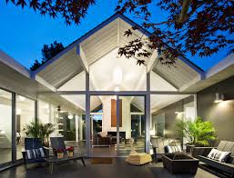 100 Eichler Architect Double Gable Remodel Magazine