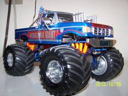 100 Destroyer Monster Truck 1989 VIRGINIA GIANT Monster Truck On The Workbench Pickups Vans