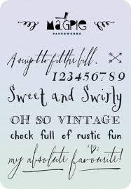 285 Best DIY Printables Fonts Images On Pinterest
