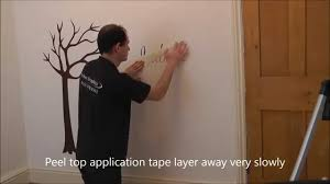 Wall Mural Decals Uk by Wall Stickers Tree Wall Sticker Installation By Wall Art
