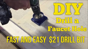Drilling Through Ceramic Tile by 21 Diy How To Drill Faucet Holes In Granite Quartz Or Marble The