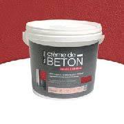 pot 5 kg peinture effet béton de tollens chez castorama