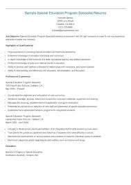 Sample Special Education Program Specialist Resume | Resame ... How To Put Your Education On A Resume Tips Examples Write Killer Software Eeering Rsum Teacher Free Try Today Myperfectresume Teaching Assistant Sample Writing Guide 20 High School Grad Monstercom Section Genius Best Director Example Livecareer Sample Teacher Rumes Special 12 Amazing